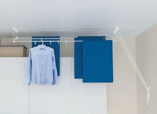 Сушилки для потолка: выбираем на балкон самую лучшую