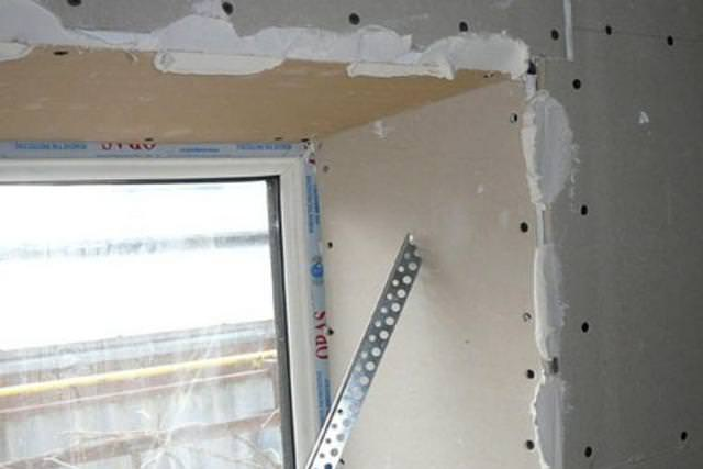 Откосы из гипсокартона своими руками на балкон – нет ничего невозможного
