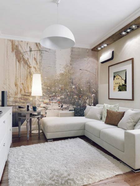Дизайн трехкомнатной квартиры для семьи с двумя детьми