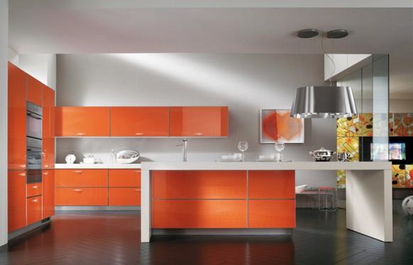 Дизайн интерьера кухни от scavolini