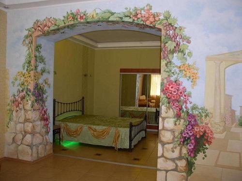 Спальня и зал, два в одном
