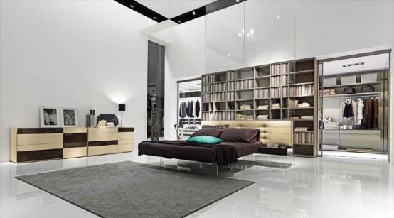Новая кровать от Presotto Italia