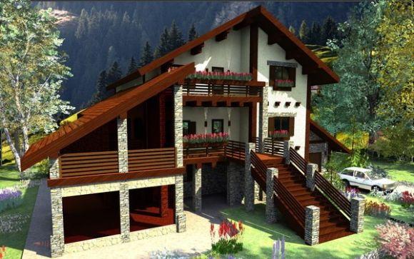 Дома в стиле шале