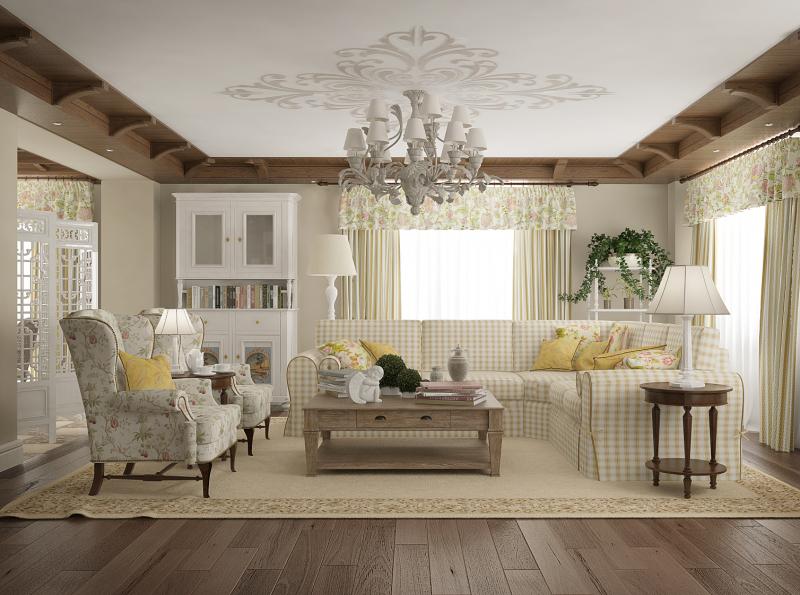 Интерьер квартиры в стиле прованс