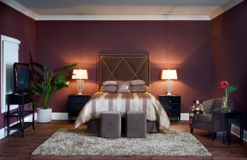 Интерьеры гостиной спальни или шикарные идеи Monique Breaux