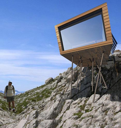 Дом, предназначенный для удобной транспортировки