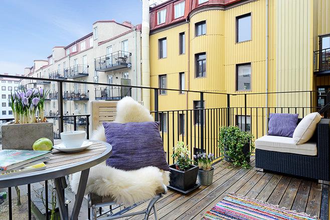 Уникальный интерьер балкона: фотогалерея, современное оформление