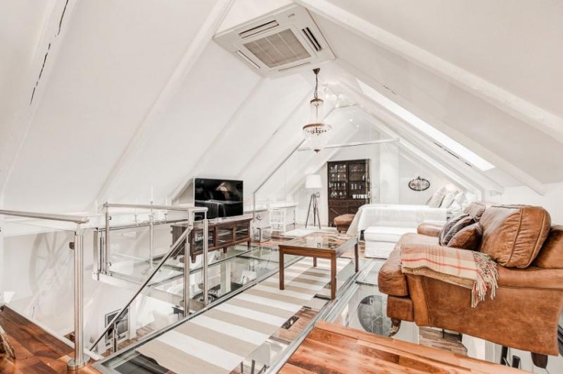 Потрясающая квартира на чердаке в Стокгольме, Швеция