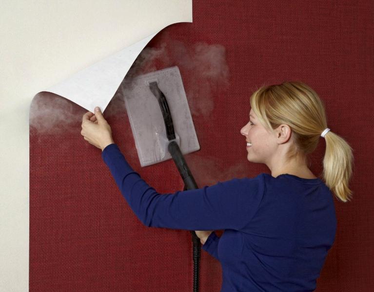 Как правильно снять виниловые обои со стены