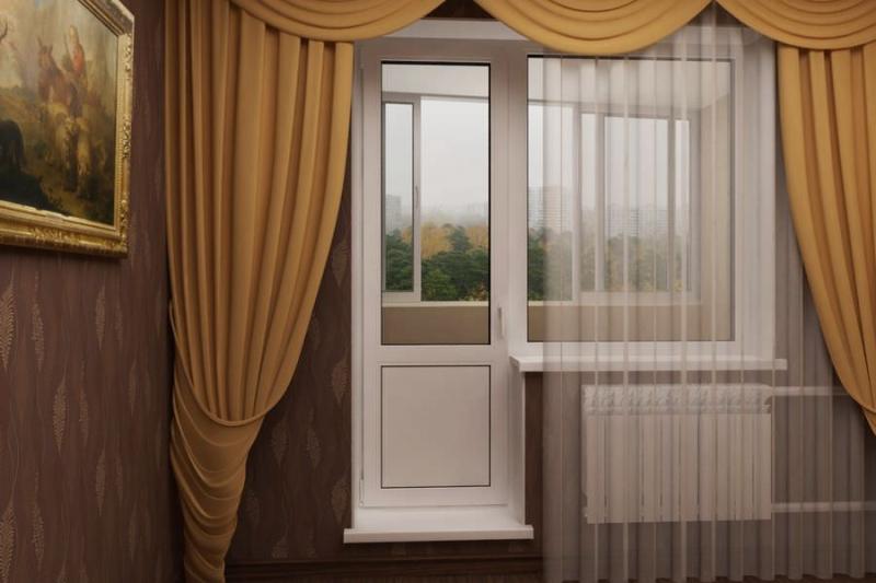 Отличное решение – балконная дверь стеклопакет