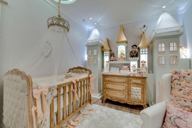 Комната для новорожденной девочки