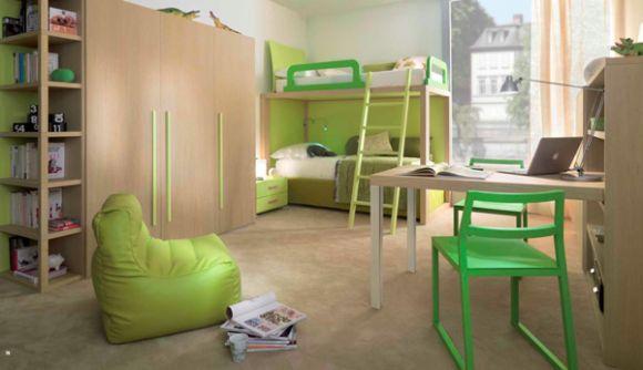 Интерьер детской для двоих детей