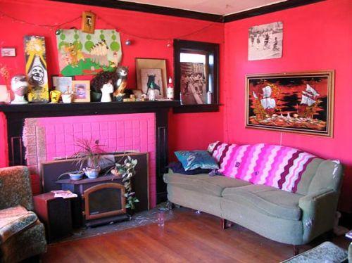 Розовые детские комнаты