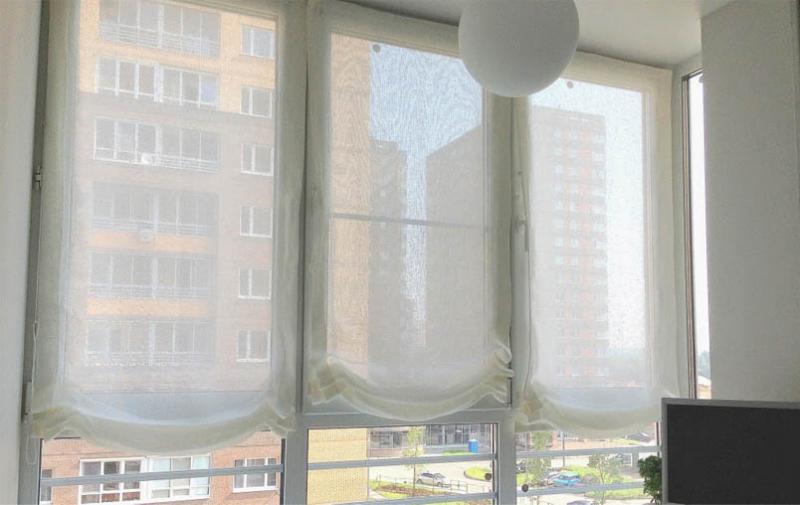 Шторы на балкон – делаем сами