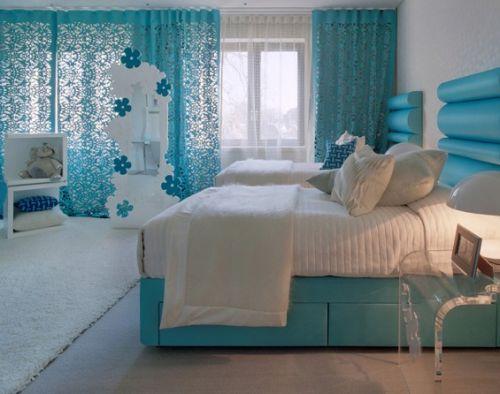 Детские комнаты в голубых тонах
