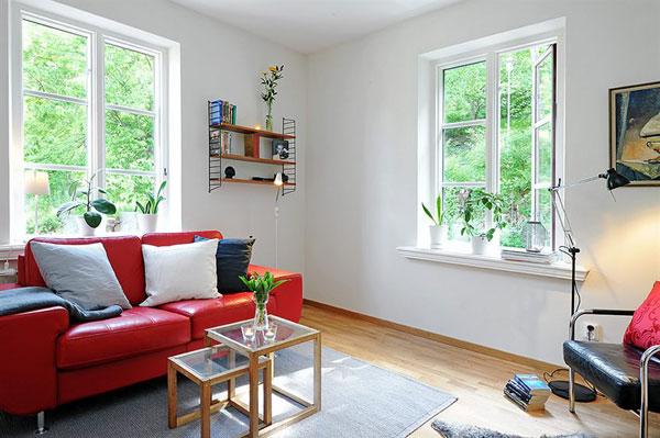Проект интерьера квартиры 36 кв. м.