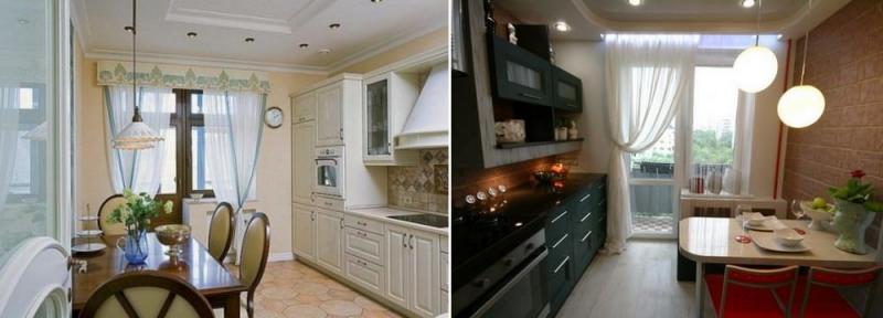 Идеи дизайна кухни с балконом: новые решения