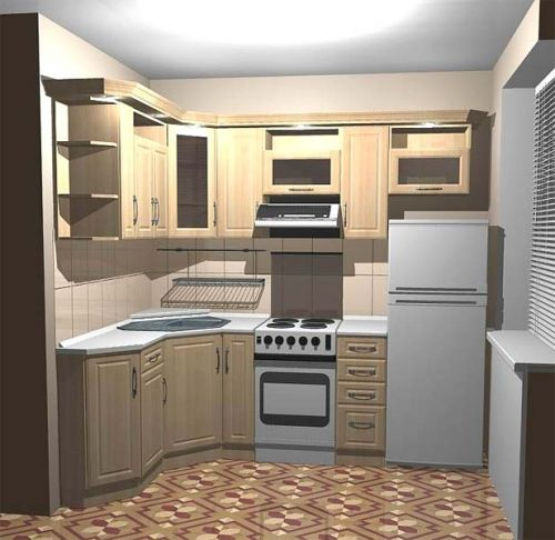 Интерьер кухни 12 кв. м.