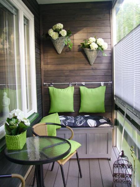 Современный дизайн балкона – практично и стильно