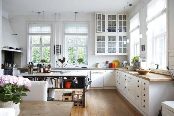 Красивые скандинавские апартаменты