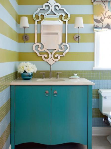 Яркие цвета в интерьере квартиры в США