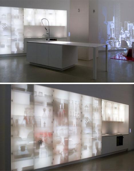 Кухня в стиле рентген от X-Ray