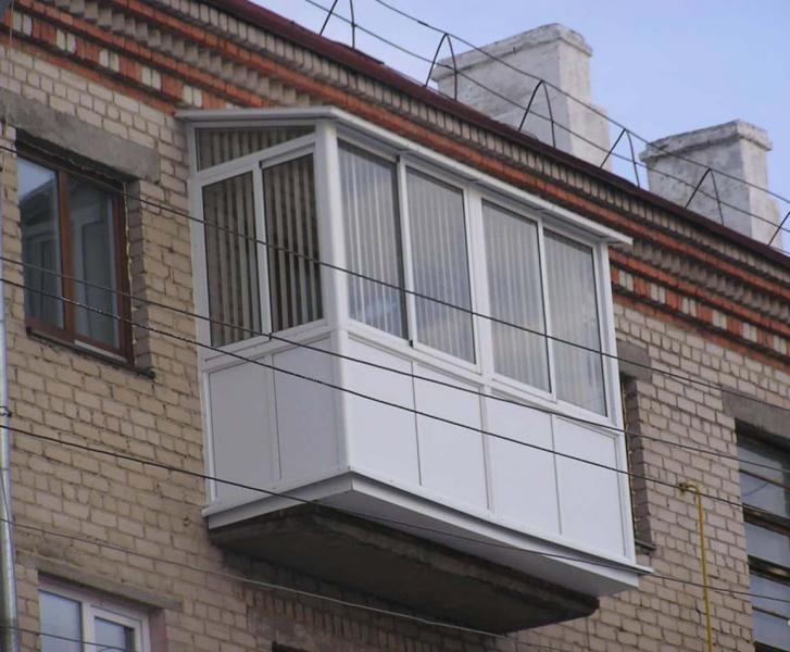фото балконов на последнем этаже защищают площадь