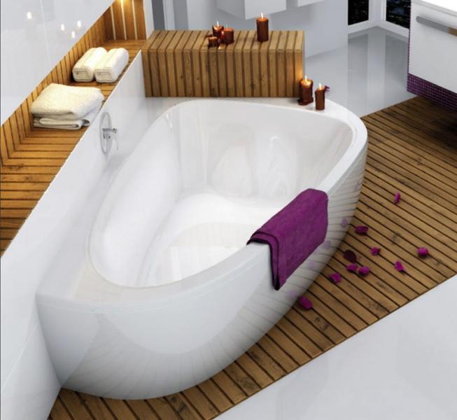Подсветка и освещение в ванной