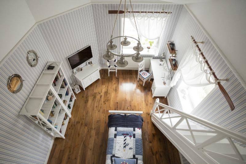 Неоклассика в интерьере частного дома