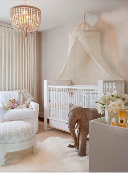 Дизайн комнаты для новорожденного малыша
