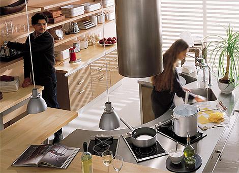 Овальные кухни