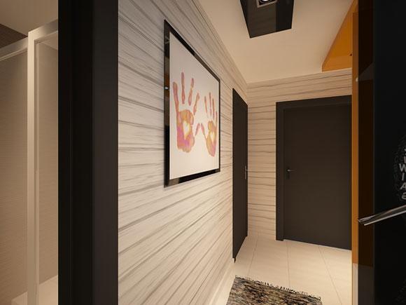Проект интерьера небольшого дома